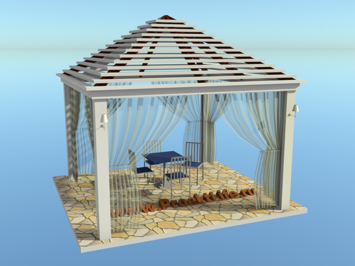 Detailed design is simply beautiful gazebo