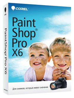 Corel™ PaintShop® Pro X6 [License key, FOTO] + GIFT