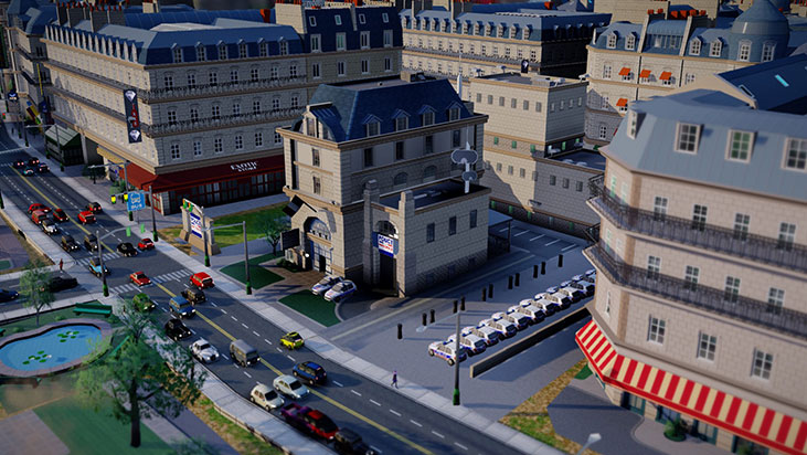 SimCity: The French city set DLC / WorldWide + GIFT