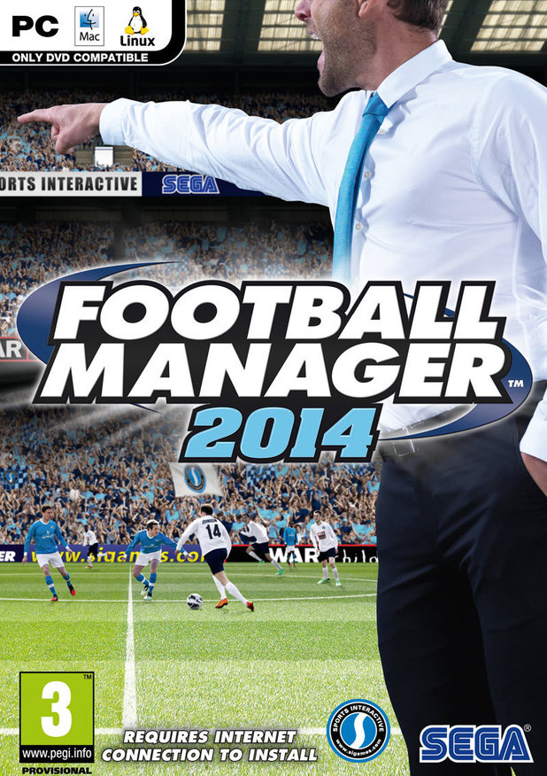 Football Manager 2014 (steam) + ORDER GIFT
