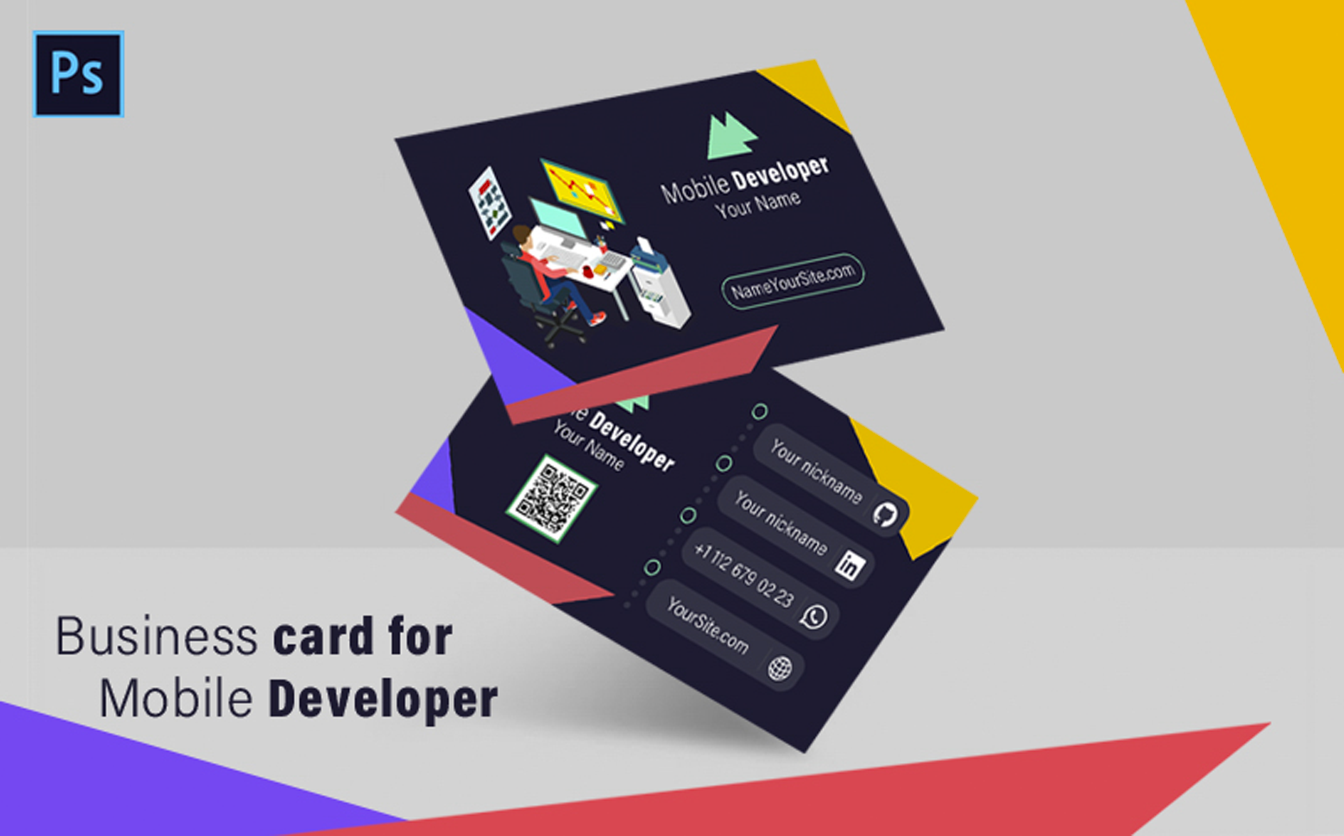 Business Card for Mobile Developer