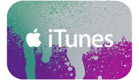 ITunes Gift Code for 500 rubles