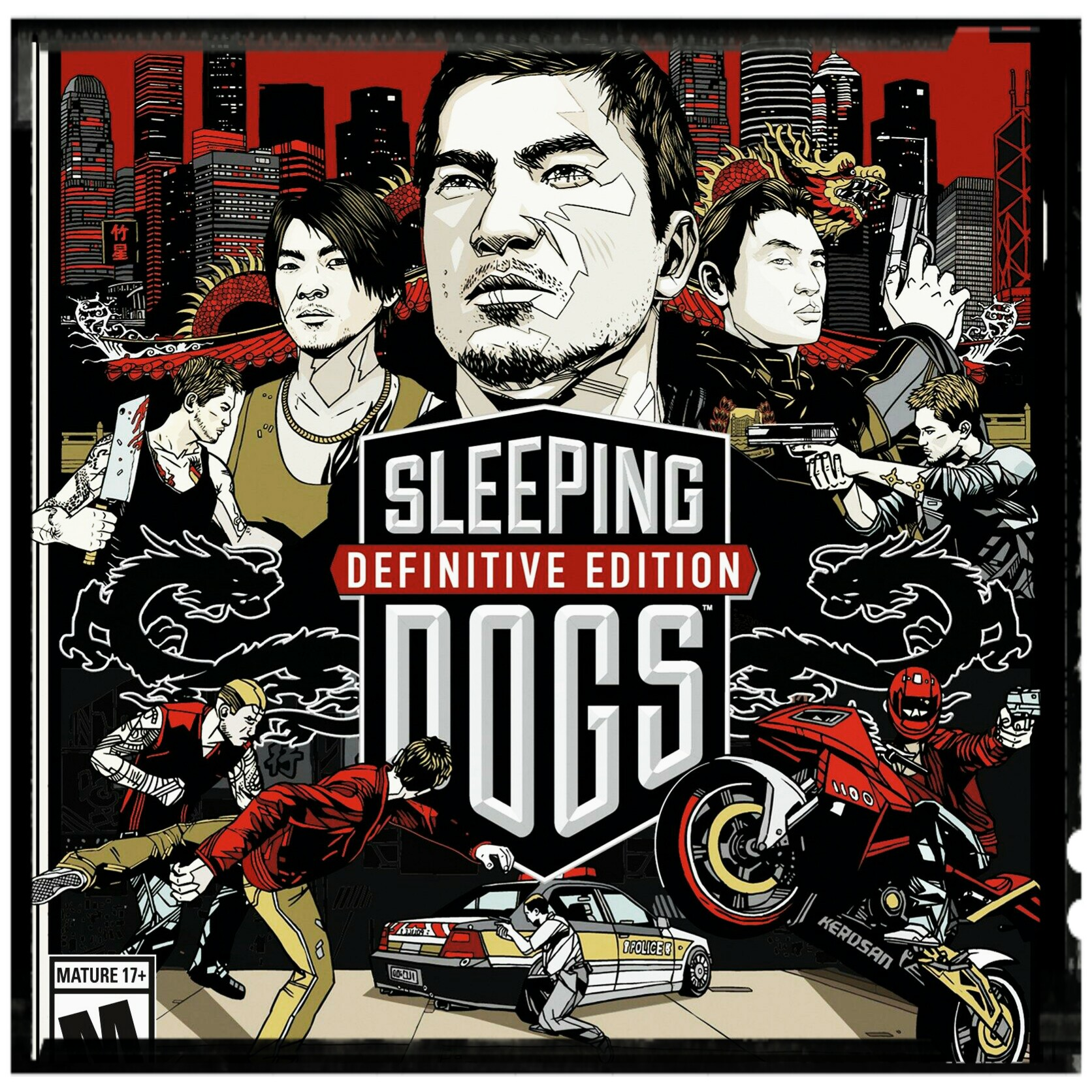 Sleeping Dogs : Definitive XBOX One key 🔑 Code [🇦🇷]