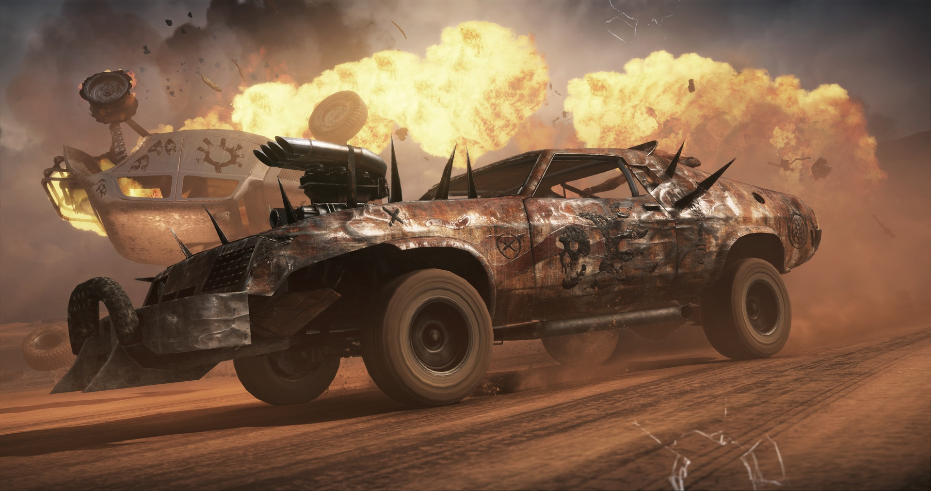 Mad Max Steam gift (RU/CIS)