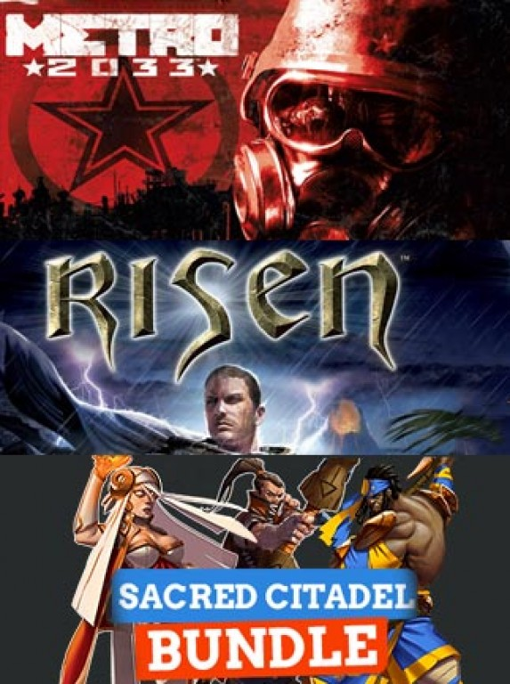 Metro 2033, Risen, and Sacred Citadel (3 in1/Key)