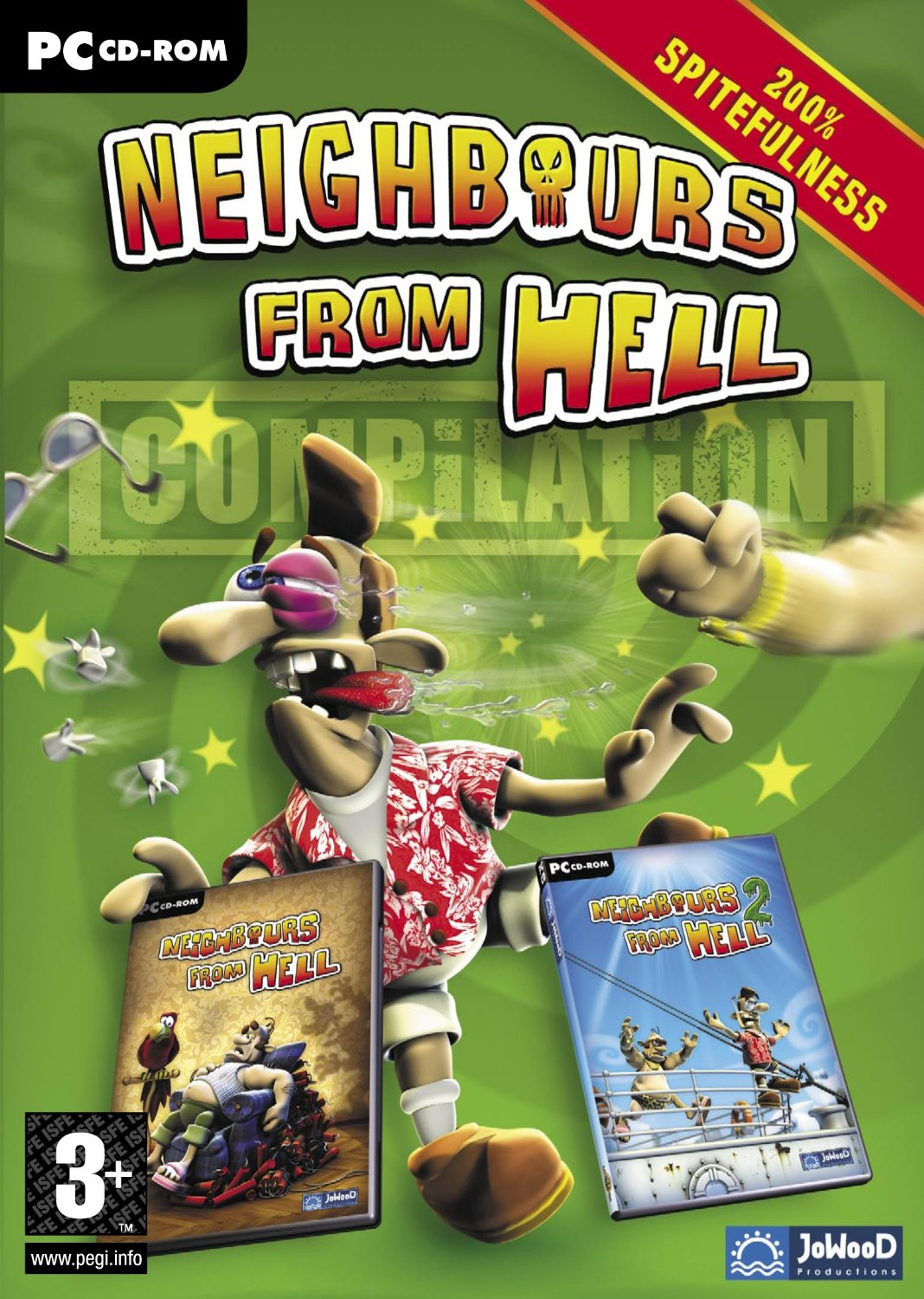 Neighbours From Hell Compilation (How to get a neighbor