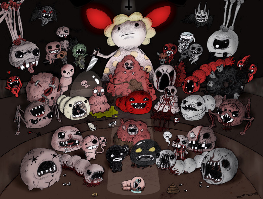 The Binding of Isaac: Rebirth (Steam gift RU/CIS+VPN)