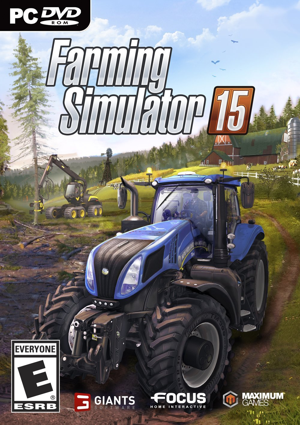 Farming Simulator 15 (Steam gift RU/CIS+VPN)