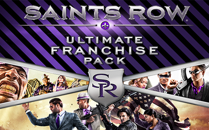 Saints Row Ultimate Franchise Pack (Steam gift RU/CIS)