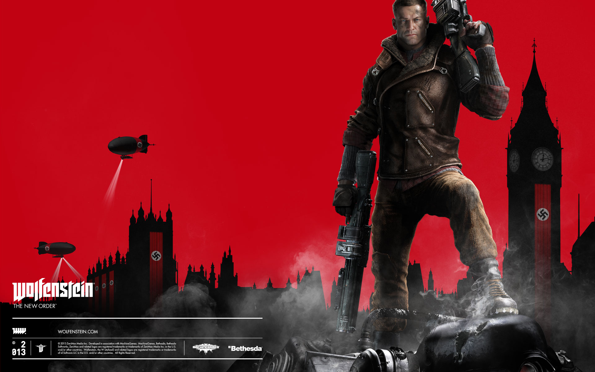 Wolfenstein: The New Order (Steam gift RU/CIS+VPN)