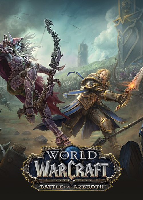 🥇World of Warcraft:Battle for Azeroth (US)+LVL110+GIFT