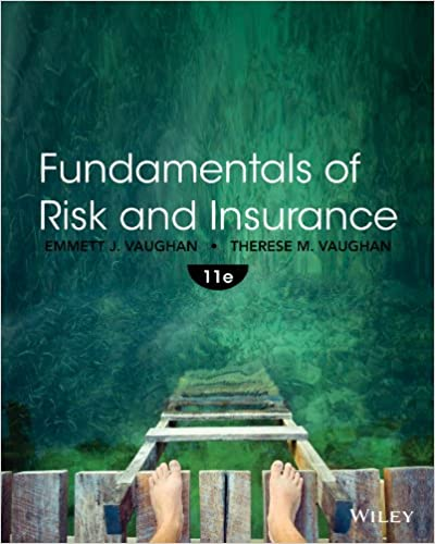 Fundamentals of Risk and Insurance