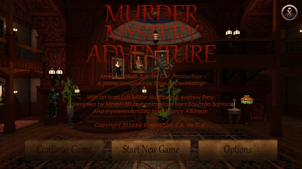 Murder Mystery Adventure (Steam Key / Region Free)