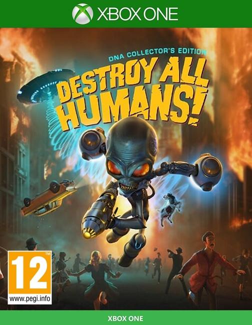 🌍Destroy All Humans! XBOX ONE/XBOX SERIES X|S/КЛЮЧ 🔑