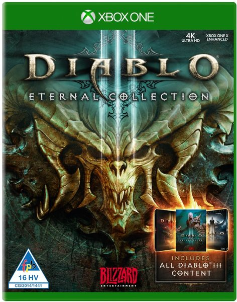 🌍 Diablo III: Eternal Collection XBOX ONE/SERIES X|S🔑