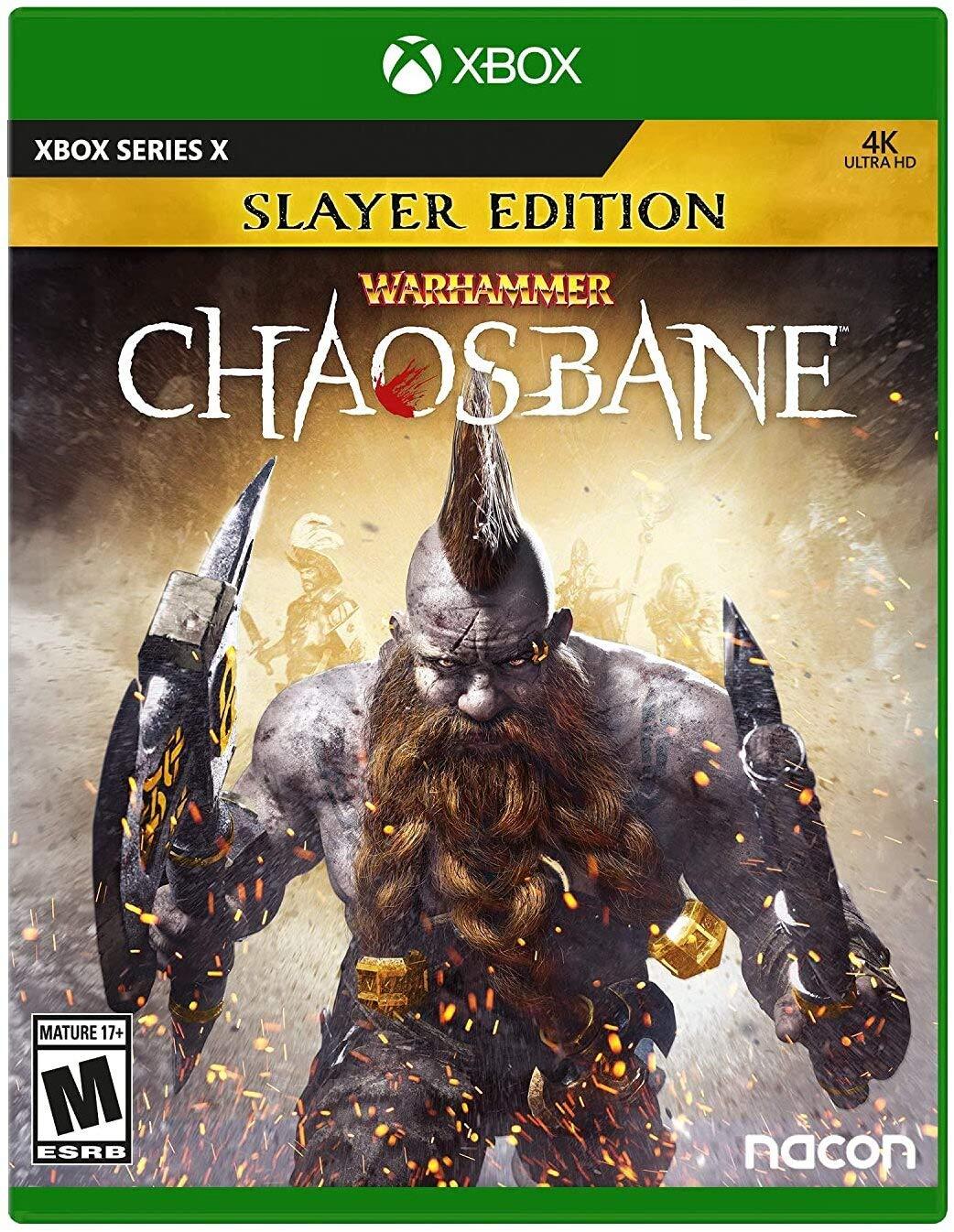 🌍 Warhammer: Chaosbane Slayer Ed. Xbox Series X|S🔑