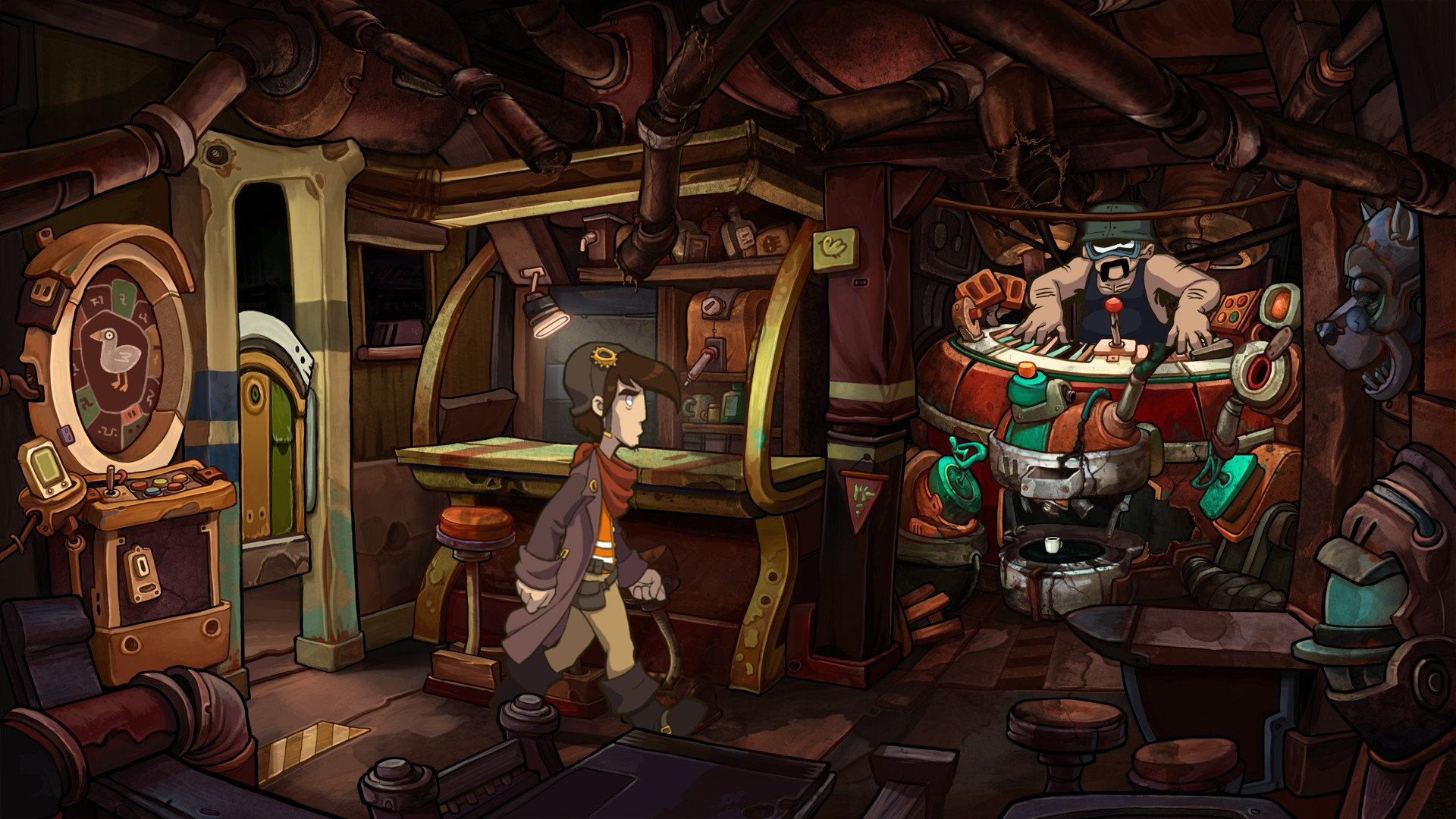 Deponia / Deponiya (Steam / Region Free)