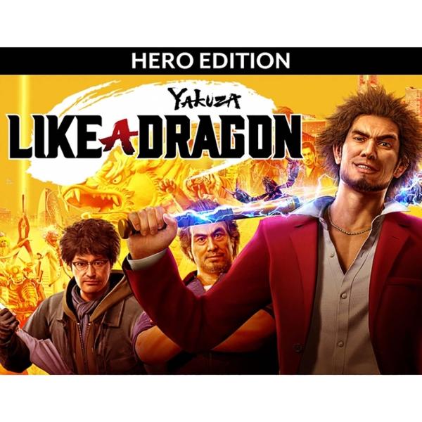 🔥 Yakuza: Like a Dragon - Hero Edition (Ключ STEAM)