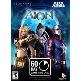 Time payment card 60 days of play AION Online EURO