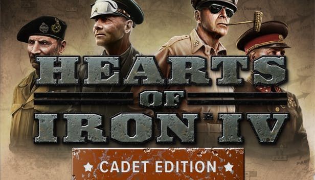 Hearts of Iron IV: Cadet Edition (STEAM OFFICIAL KEY)