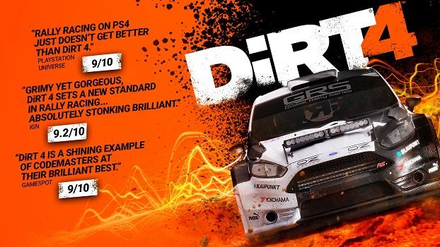 Dirt 4 (steam key)