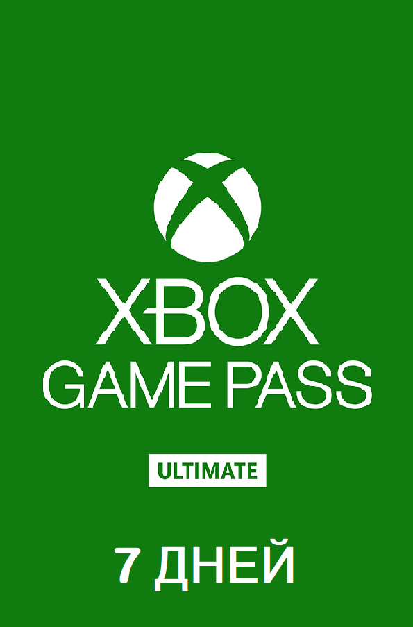 Xbox Game Pass ULTIMATE 7 days + Ea Play Renewal
