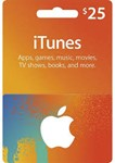 iTunes Gift Card $ 25 USA
