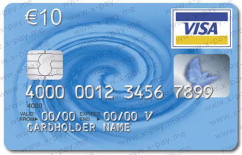 euro 10 virtual visa virtual prepaid card - Virtual Visa Card