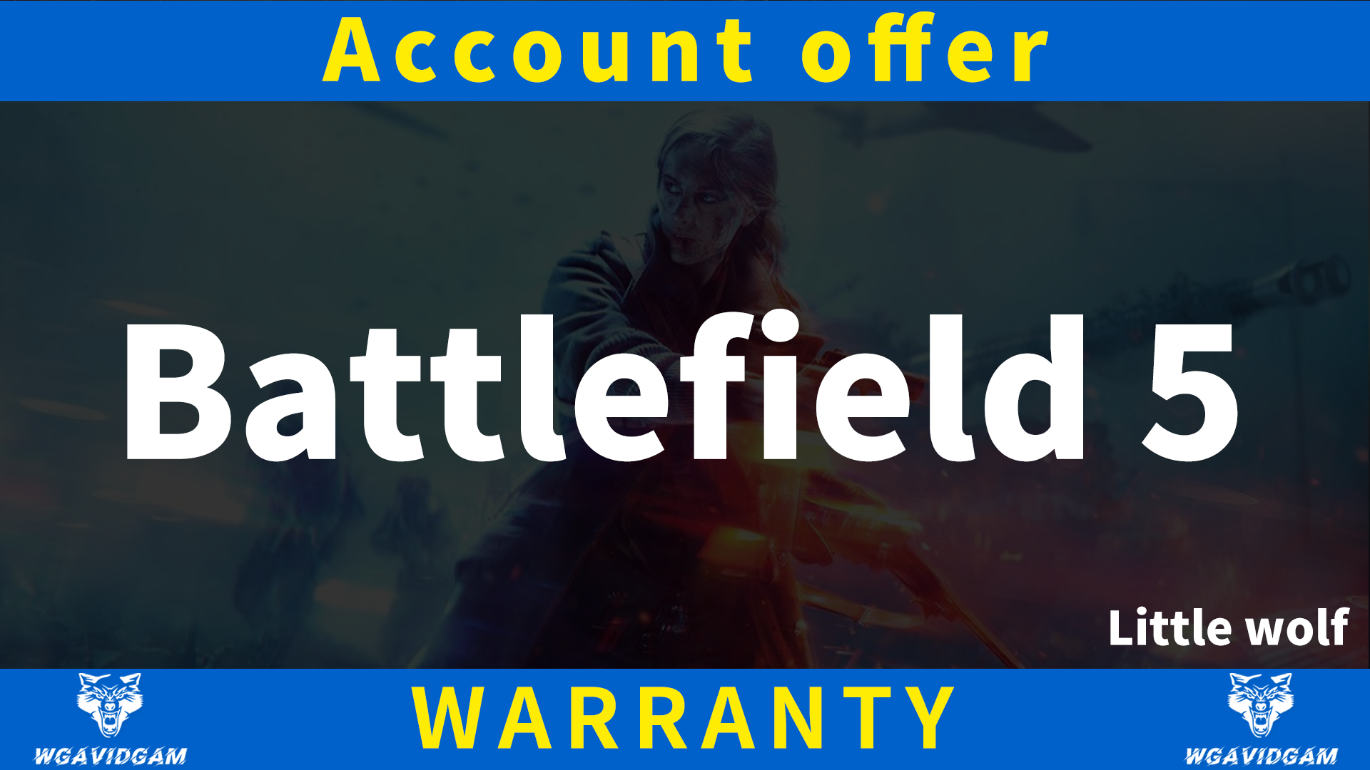 Фотография купить аккаунт battlefield 5 [origin]  aккаунт