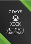 ✅XBOX GAME PASS ULTIMATE 7 days ✅Conversion ✅GLOBAL