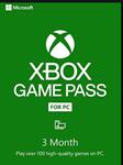 ✅Xbox Game Pass 3 Month PC✅ TRIAL ✅ USA+EU