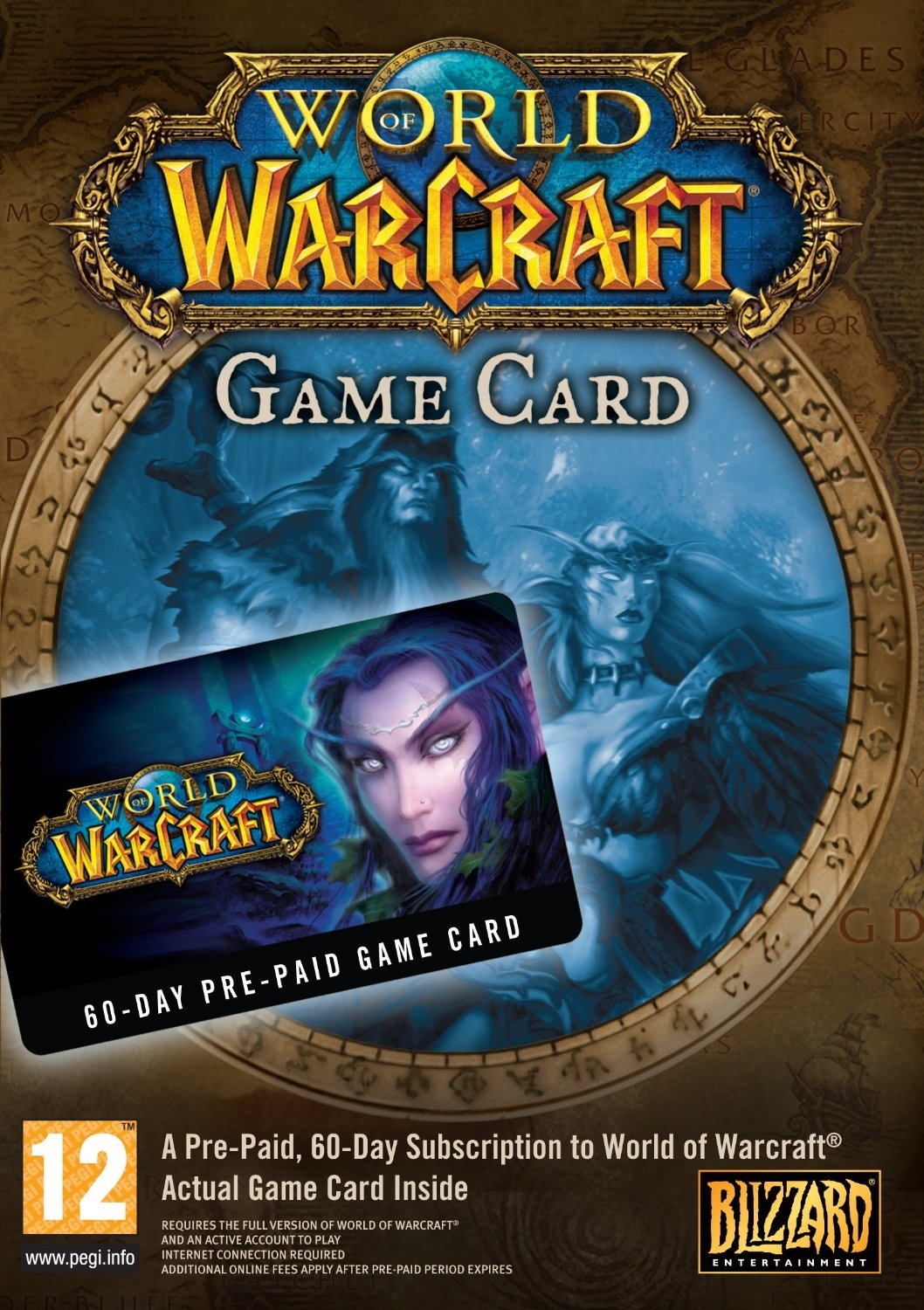 WoW EU/RU 60 Days Prepaid Game card (Huge Discount!!!)