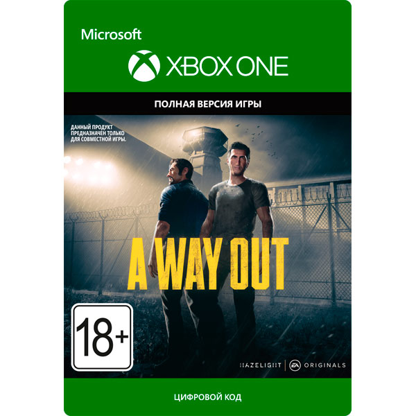A Way Out XBOX ONE / XBOX SERIES X|S Code 🔑