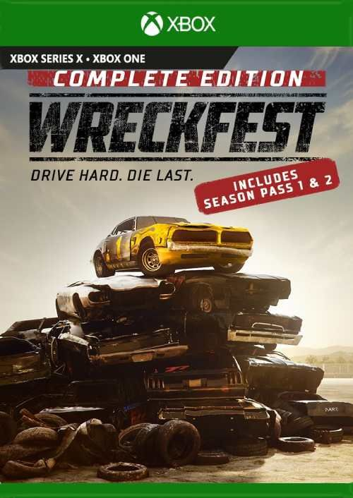 Wreckfest Complete Edition XBOX ONE / SERIES S X Ключ🔑
